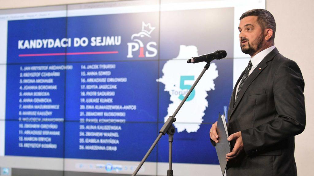 PiS opublikowało listy wyborcze