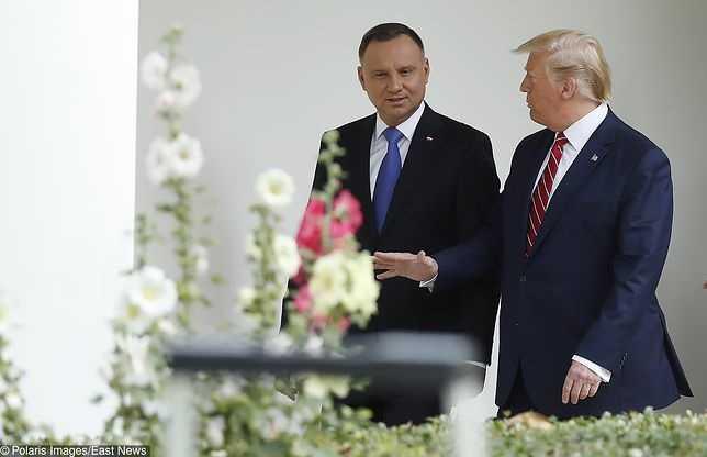 Donald Trump w Polsce. Andrzej Duda rozmawiał z prezydentem USA przez telefon