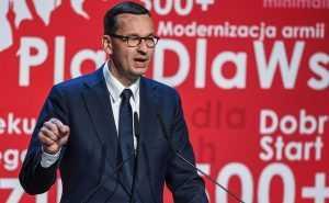 Pierwsza konwencja PiS. Premier Mateusz Morawiecki o opozycji, gwiazdach i Batmanie