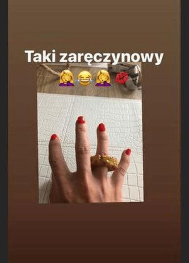 Justyna Żyła pochwaliła się pierścionkiem zaręczynowym. Wielkie poruszenie w sieci