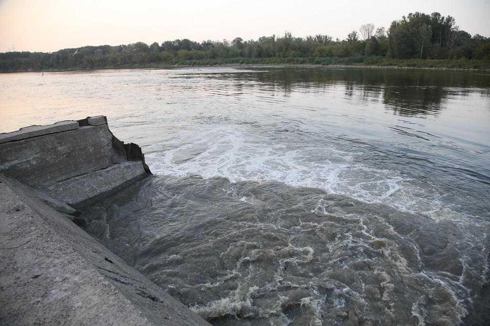 W Wiśle płynie już ponad milion metrów sześciennych ścieków