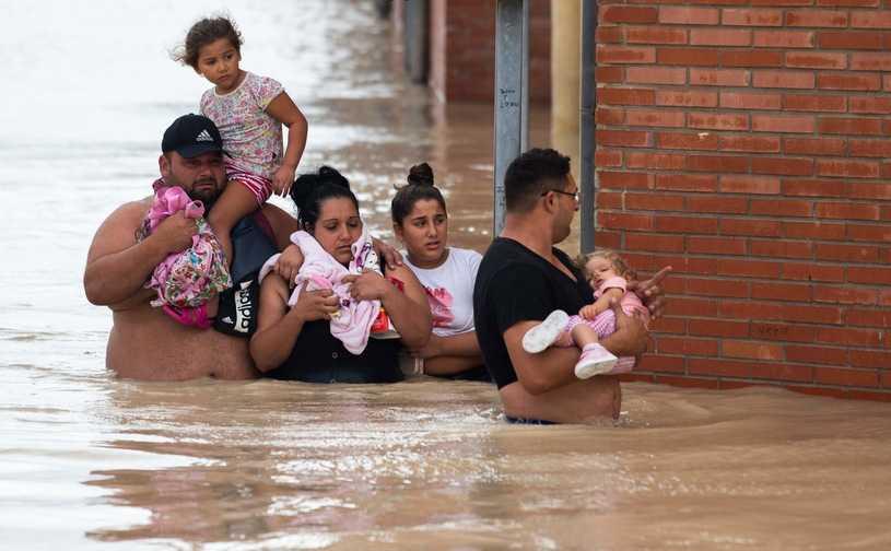 Wzrosła liczba ofiar śmiertelnych powodzi w Hiszpanii
