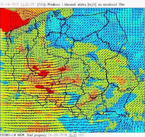 Pogoda. Deszcz i potężny wiatr nad Polską - w porywach do 140 km/h