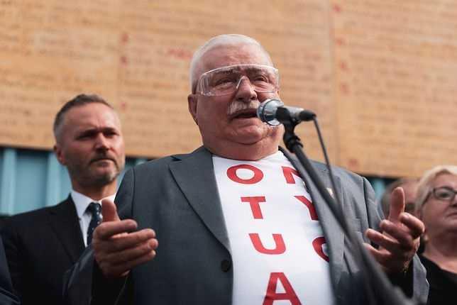 """Lech Wałęsa jest zaskoczony słowami Leszka Millera nt. współpracy z SB. """"Co mu odbiło?"""""""