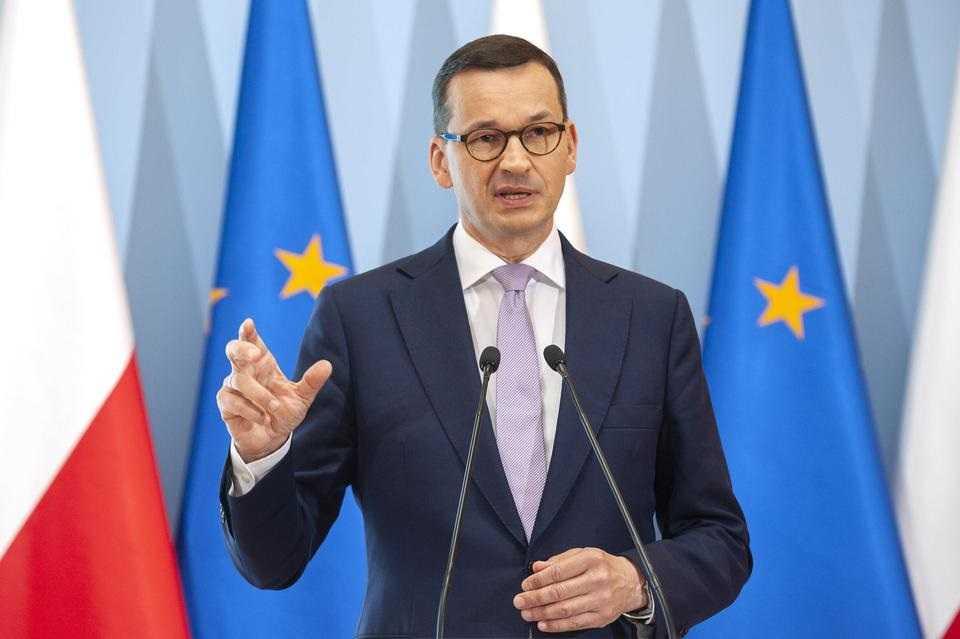 Premier Morawiecki pokazał, co ma w telefonie