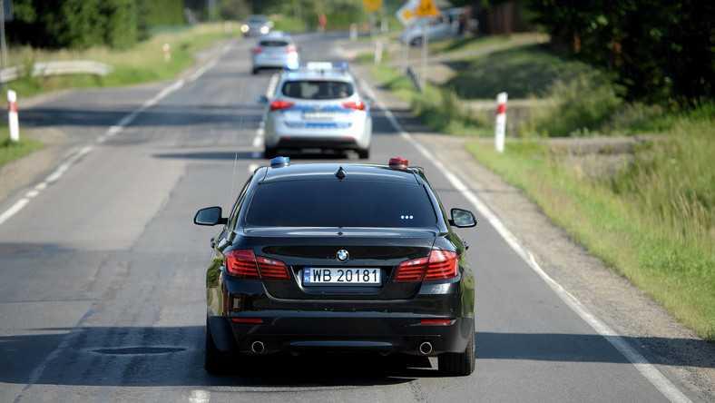 W sierpniu doszło do stłuczki samochodów SOP. W jednym z pojazdów był Andrzej Duda