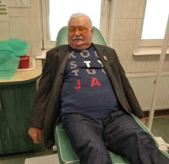 Lech Wałęsa zaatakowany w centrum Warszawy. Szef jego instytutu został pobity