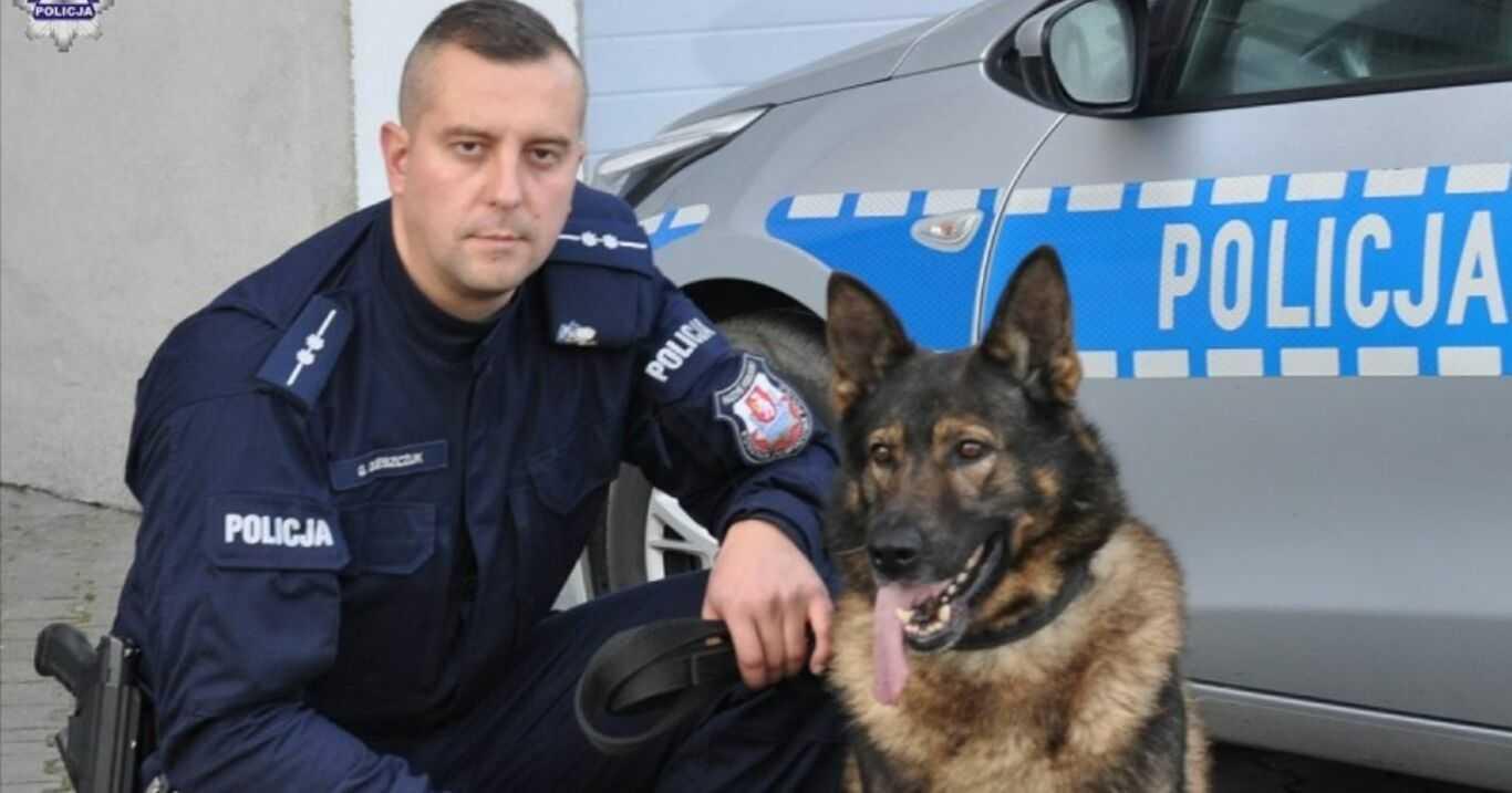 Lubelskie. Policyjny owczarek niemiecki ratuje kobietę przed samobójstwem
