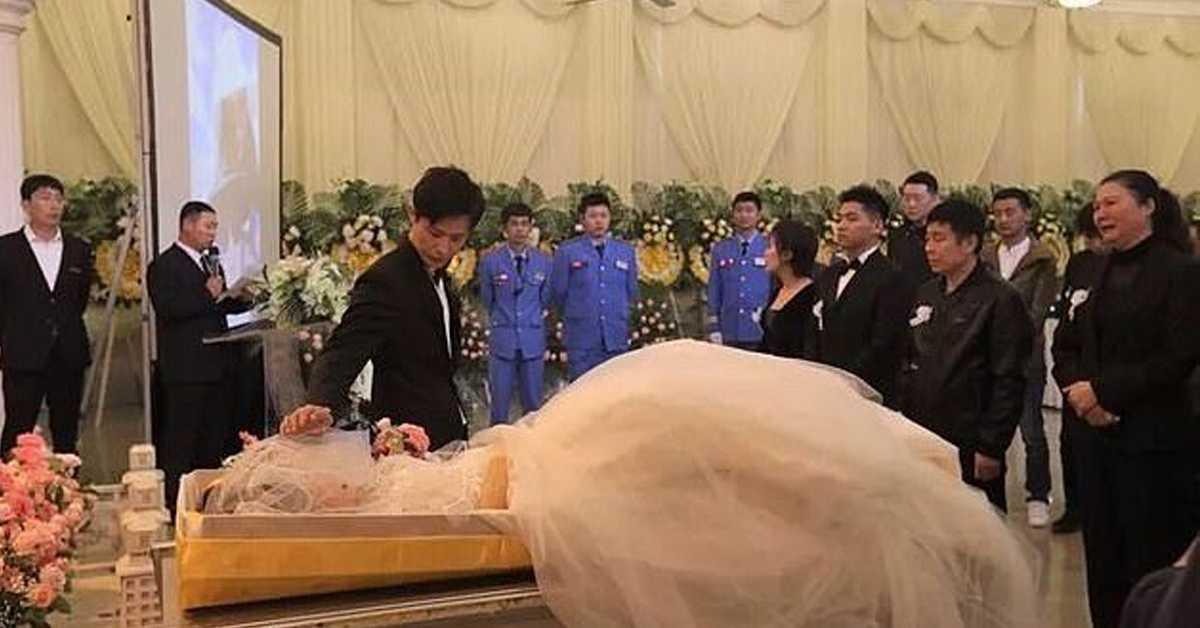 35-latek ożenił się ze zwłokami narzeczonej. Kobieta zmarła kilka dni przed ślubem
