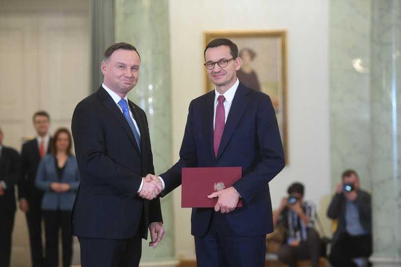 Ministrem sportu zostanie na razie premier Morawiecki