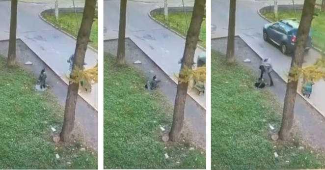 Malutki chłopiec wpadł do studzienki kanalizacyjnej. Przerażona mama rzuciła się mu na pomoc