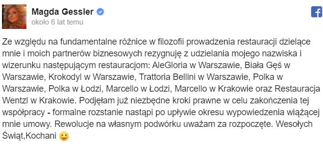 Dawid Kwiatkowski podzielił się nieprzyjemną sytuacją. Wyrzucono go z restauracji sygnowanej nazwiskiem Magdy Gessler