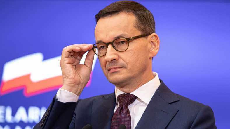 Premier Morawiecki odpowiada na słowa Macrona o NATO: nieodpowiedzialność