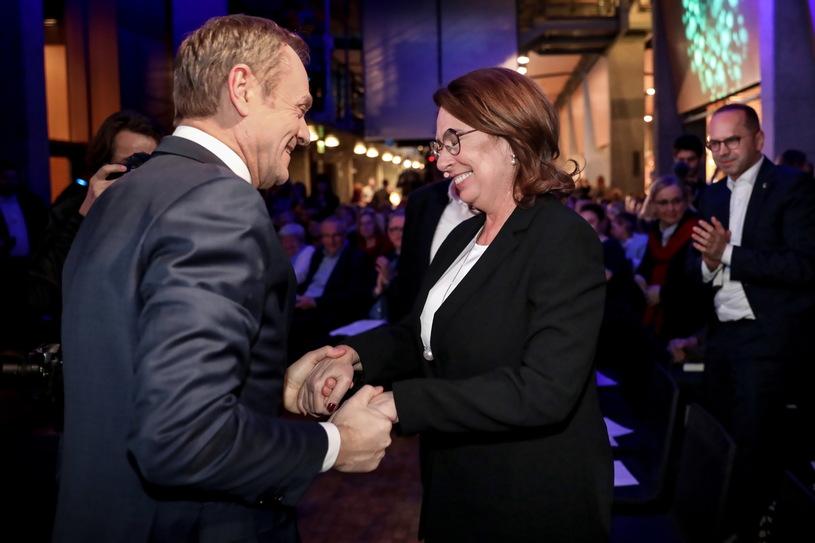 Donald Tusk: Małgorzata Kidawa-Błońska może liczyć na moje wsparcie. Ma zdolność łączenia