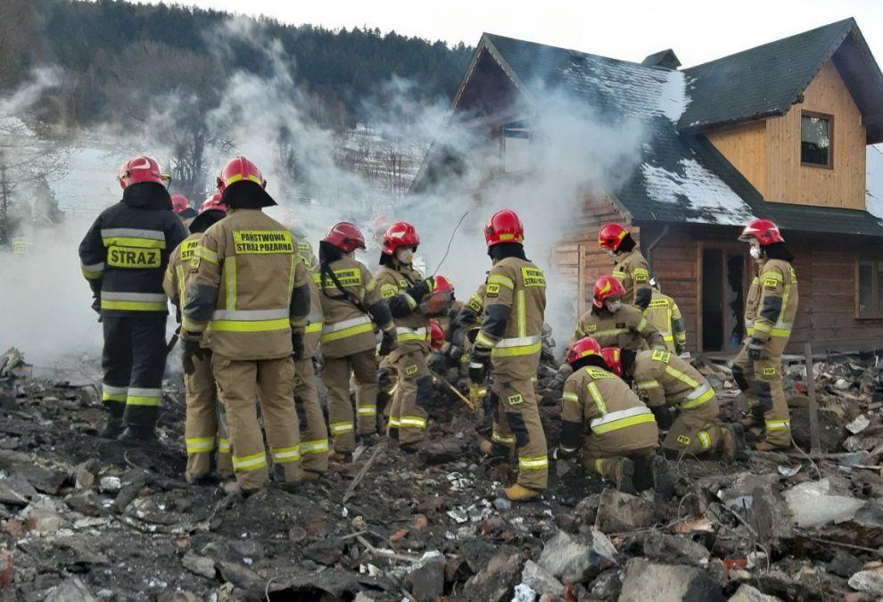 Wybuch gazu w Szczyrku: areszt dla podejrzanych