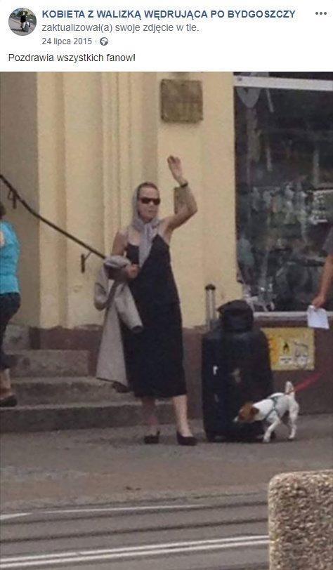 """Zmarła """"Kobieta z walizką"""". Była prawdziwą legendą"""