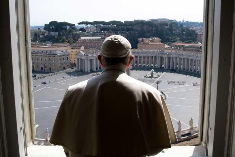 Epidemia koronawirusa. Pozytywny odzew na apel papieża Franciszka