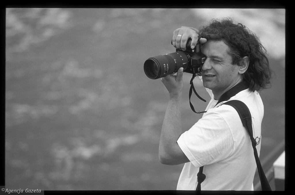 Nie żyje Maciej Kosycarz. Najbardziej znany fotograf Gdańska nie skończył jeszcze 56 lat