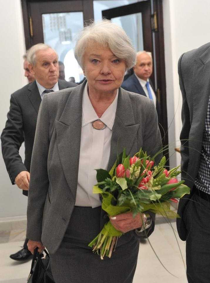 Krystyna Łybacka nie żyje