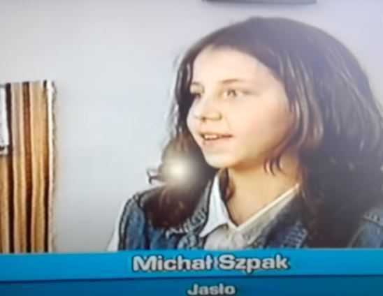 Do sieci trafił pierwszy wywiad Michała Szpaka. Na nagraniu ma tylko 13 lat, nie poznacie go