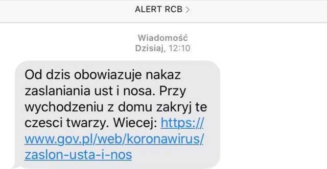 Dziś wszyscy Polacy dostaną identycznego SMSa. Każdy ma obowiązek go przeczytać