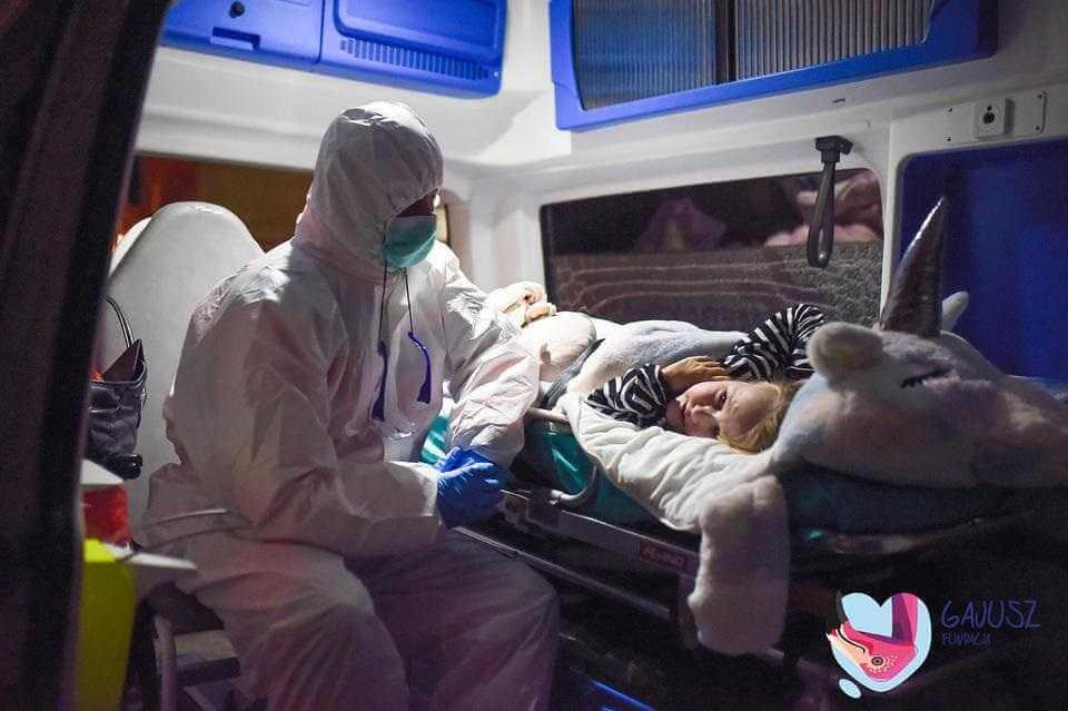 Jagienka walczyła o życie gdy wokół szalała epidemia