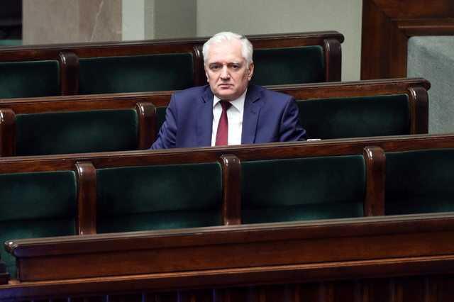 Jarosław Gowin: Podaję się do dymisji
