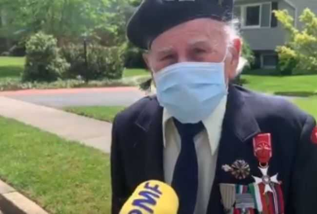 Polski weteran myślał, że umawia się na wywiad. Nagle przed jego domem zrobiło się wielkie zamieszanie, łzy same płyną