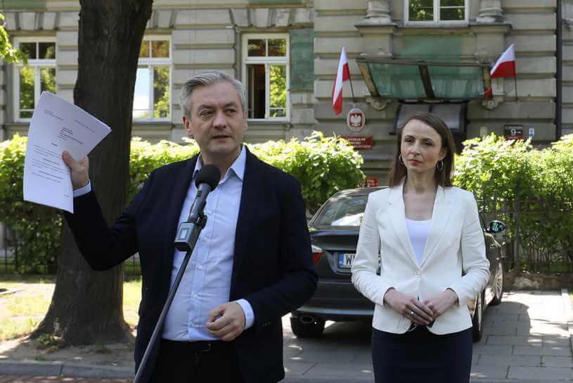 Robert Biedroń: Szumowski zachłysnął się popularnością, dziś sięgnął dna