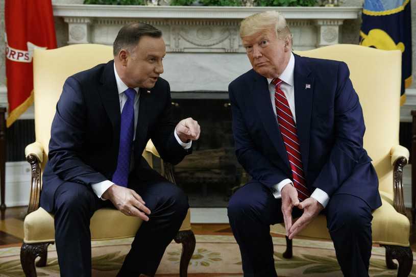 """""""Politico"""": W najbliższych dniach możliwe spotkanie Andrzeja Dudy z Donaldem Trumpem"""