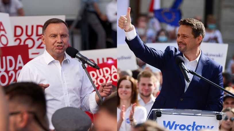 Kolejny sondaż, w którym Rafał Trzaskowski pokonuje Andrzeja Dudę