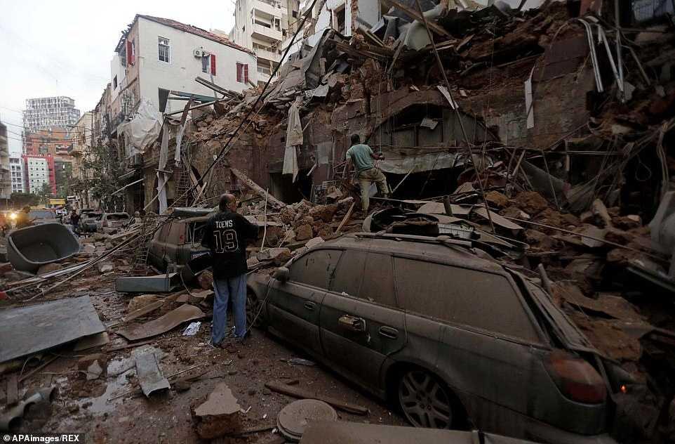 Zniszczenia po eksplozji w Bejrucie. Wideo i zdjęcia z miejsca tragedii porażają