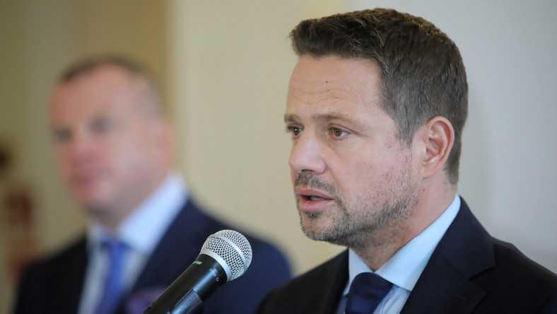 Rafał Trzaskowski trafił do szpitala. Jest zakażony koronawirusem