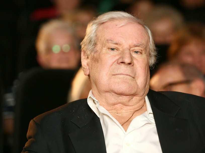Wiesław Gołas obchodzi 90. urodziny. Prezydent przekazał życzenia i podziękował za dorobek twórczy
