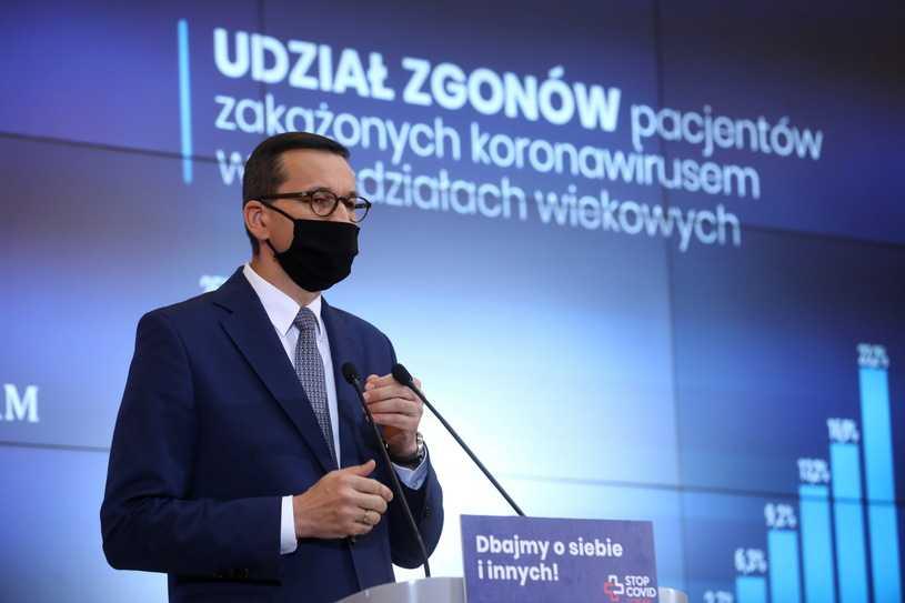 Koronawirus w Polsce. Premier: Na takich założeniach opieramy nasze działania