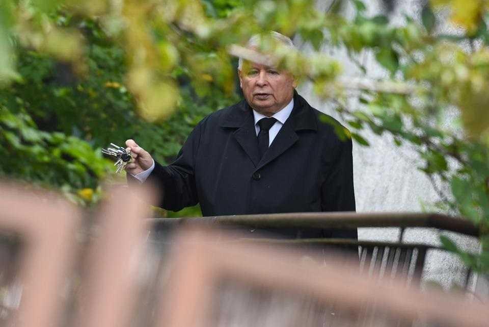 Kaczyński miał robiony test na koronawirusa. Zna już wynik