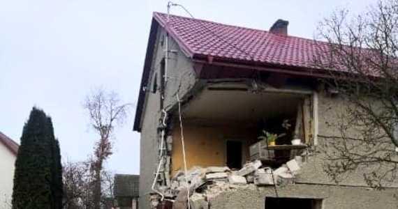 Wybuch gazu w domu koło Kielc. Są ranni