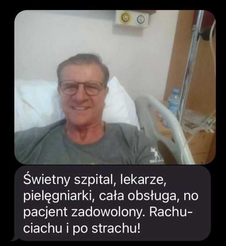 Syn Zygmunta Chajzera pokazał zdjęcie ojca ze szpitala. Jego widok mówi sam za siebie, internauci natychmiast zareagowali