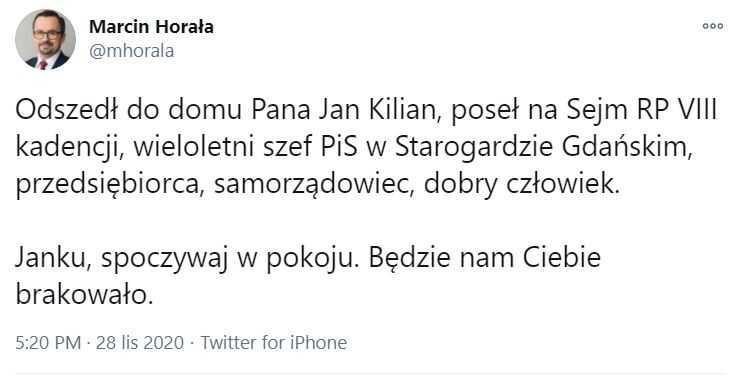Z ostatniej chwili: nie żyje polityk partii rządzącej. Tragiczne informacje obiegły Polskę