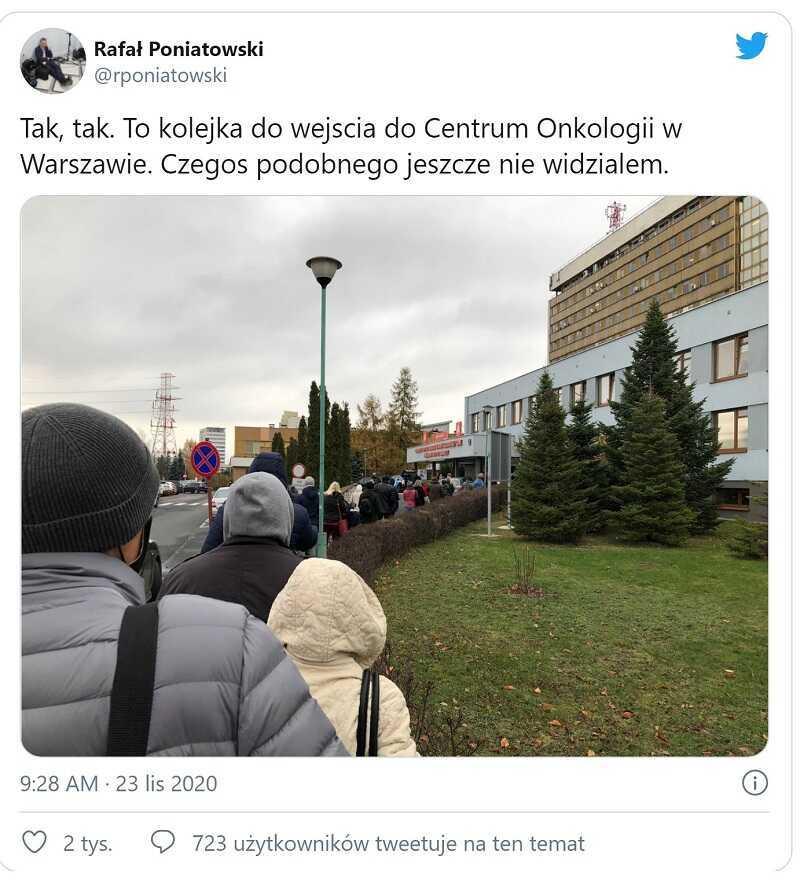 Zdjęcie kolejki przed polskim szpitalem obiegło sieć w błyskawicznym tempie. Prawda wyszła na jaw