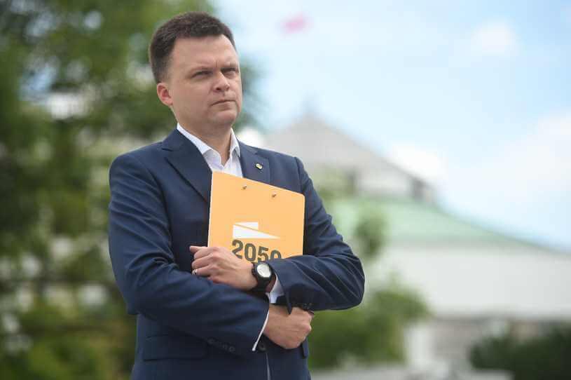 """Szymon Hołownia premierem? """"Boję się, że mógłby się popłakać"""""""