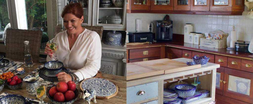 Katarzyna Dowbor pokazała, jak mieszka. Kuchnia przyciąga wzrok, a ogród szokuje