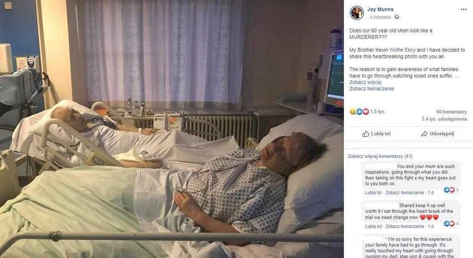Małżeństwo chciało razem umrzeć. 80-letnia żona została oskarżona o morderstwo