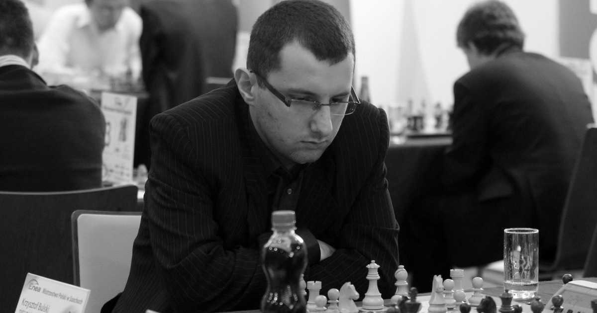 Nie żyje Krzysztof Bulski. Mistrz Polski w szachach miał zaledwie 33 lata