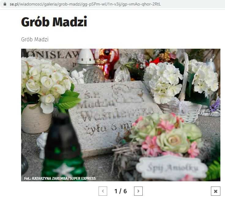 Madzia z Sosnowca w tym roku miałaby już 10 lat. Widok jej grobu rozbija serce w pył
