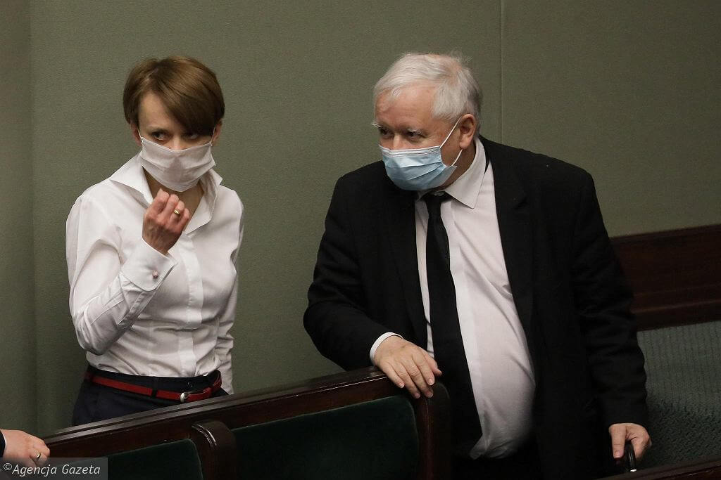 Jadwiga Emilewicz o reakcji Jarosława Kaczyńskiego na protesty Strajku Kobiet: Był zaskoczony ich skalą