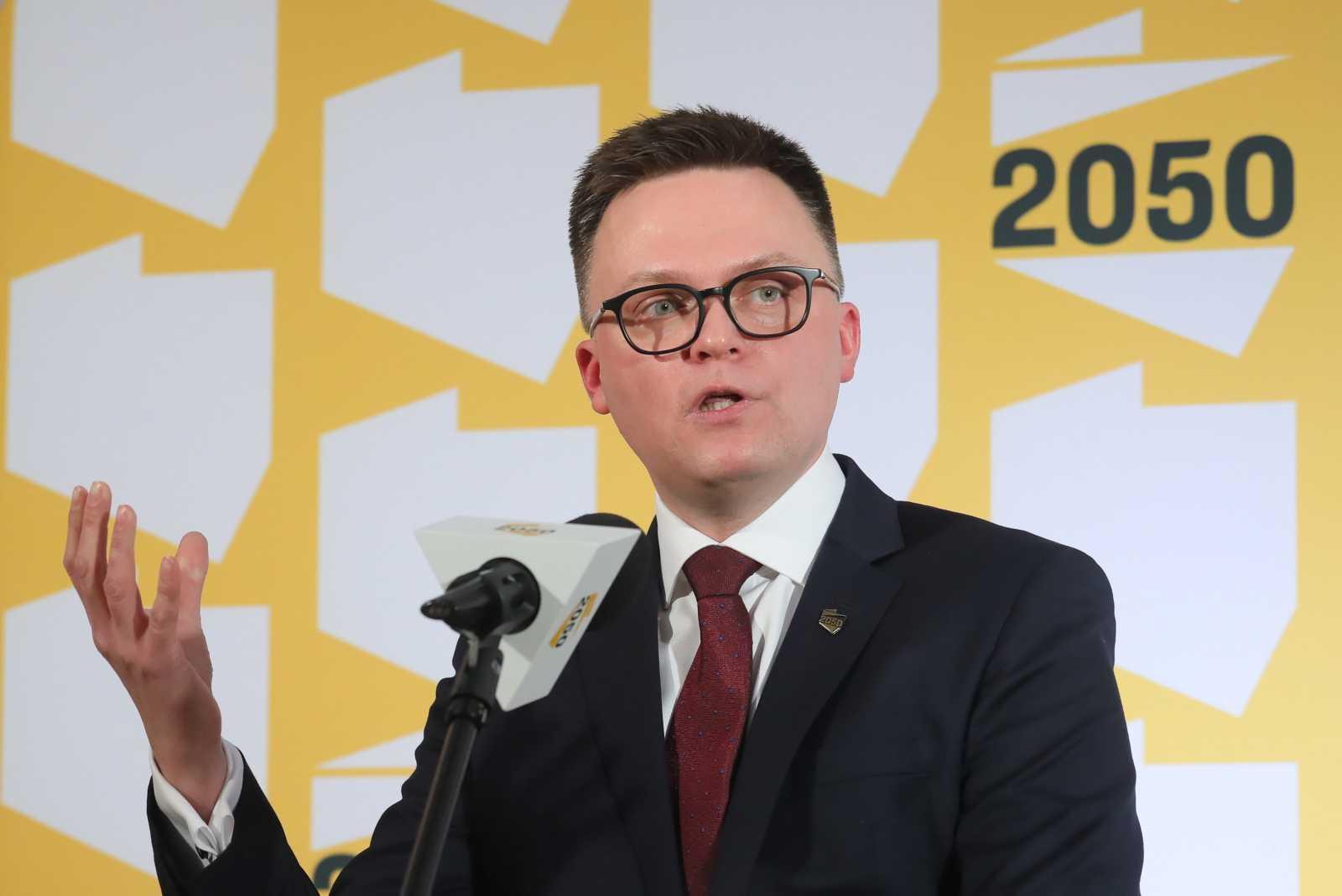 Polska 2050 Hołowni rośnie w siłę. Będzie koło w Sejmie