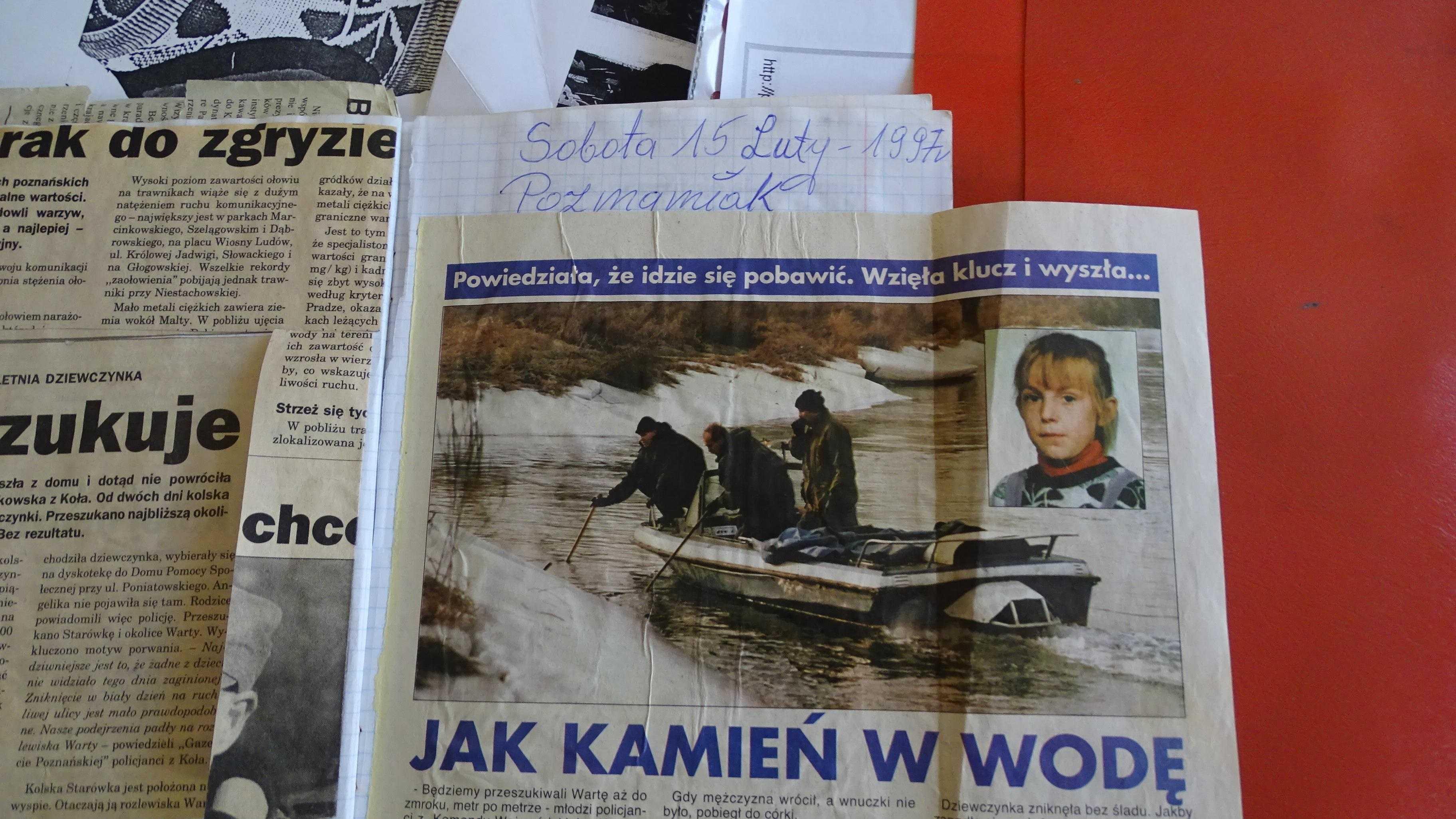 Decyzja o wszczęciu śledztwa dotyczącego zabójstwa 10-letniej Andżeliki Rutkowskiej. Policja odmówiła przekazania akt sądowi