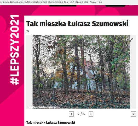 Tak mieszka Łukasz Szumowski. Zielona oaza spokoju