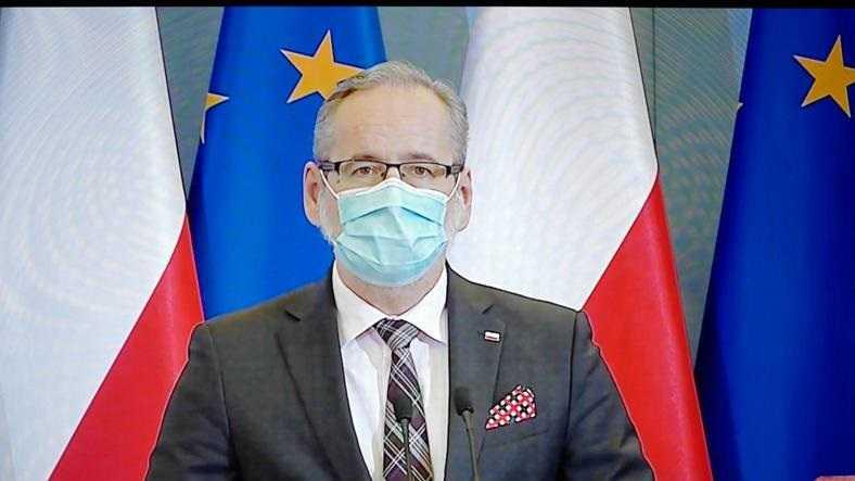 Niedzielski: trzecia fala pandemii rozlewa się po Polsce